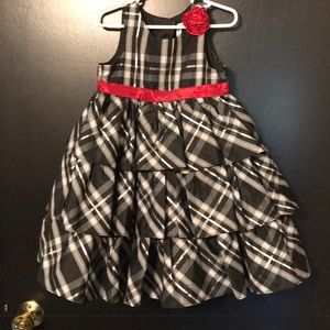 Tiered ruffled party dress